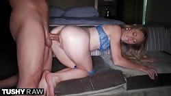 TUSHYRAW Petite Anya craves some deep anal penetration