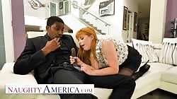 Naughty America Driver gets lucky when he takes Penny Pax home