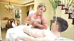 Brazzers - Little Buddy With Big COCK Fuck a Blonde Milf